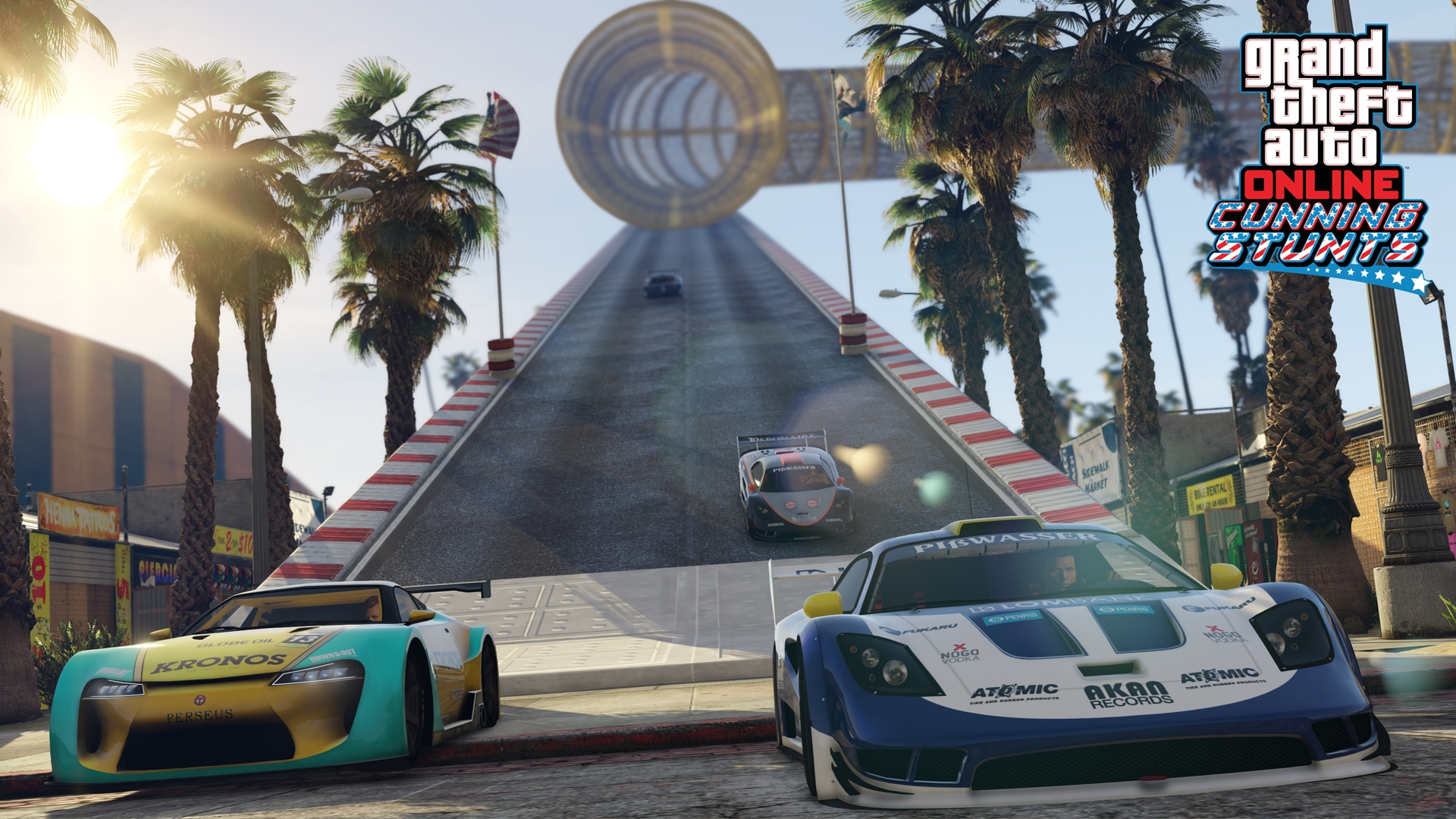 Play New Gta Online Cunning Stunts Races Today New Vehicles
