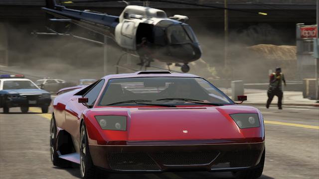 GTA V - imagem Rockstar Games