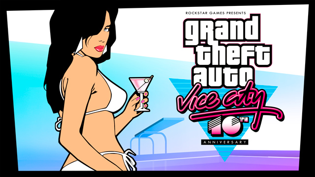 GTA Vice City 10 anos - Fonte: rockstargames.com/newswire