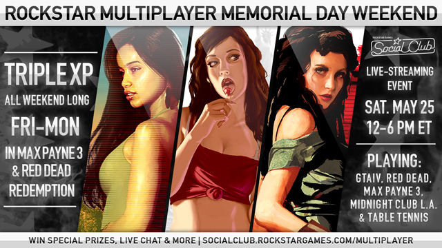 Rockstar Multiplayer Memorial Day Weekend