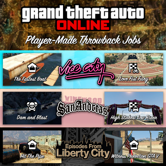 Player-Created GTA Online Throwback Jobs: Inspired by ...