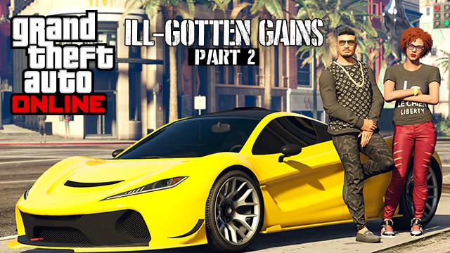 GTA 5 ill-gotten gains part 2
