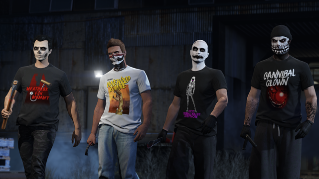 GTA5 Evento del weekend di Halloween di GTA Online