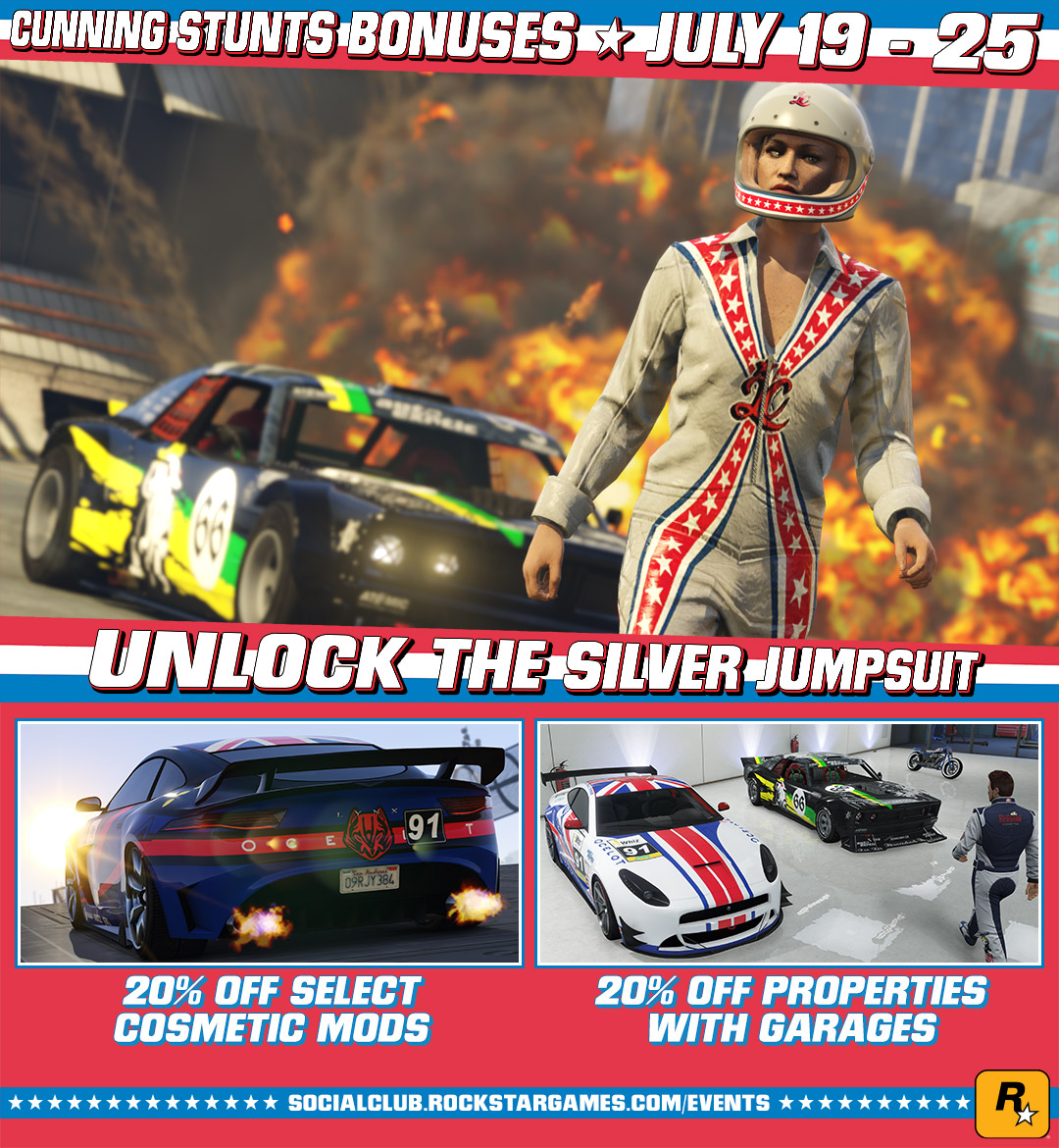 Gta 5 Garage: New Stunt Races And Vehicles Added To GTA Online: Cunning