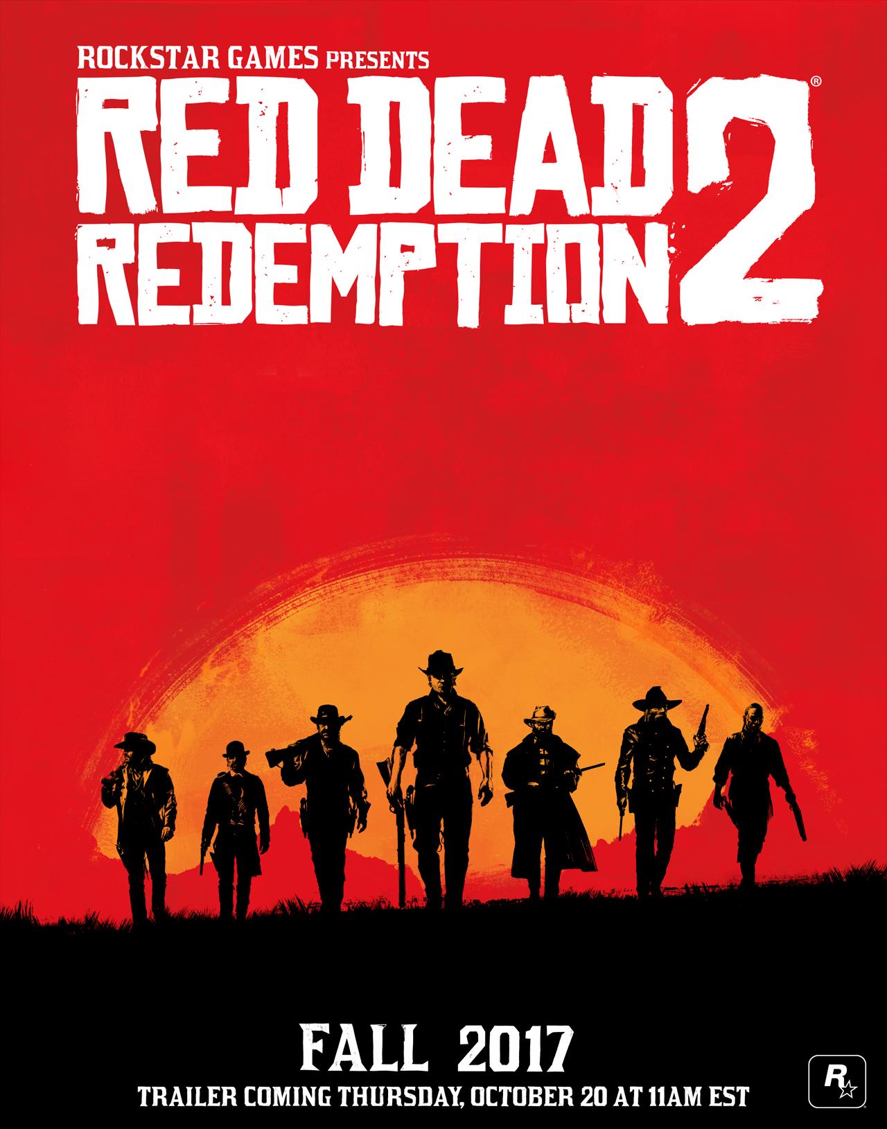 Le premier trailer de Red Dead Redemtpion 2