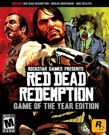 Red Dead Redemption - Game Of The Year Edition Confirmed