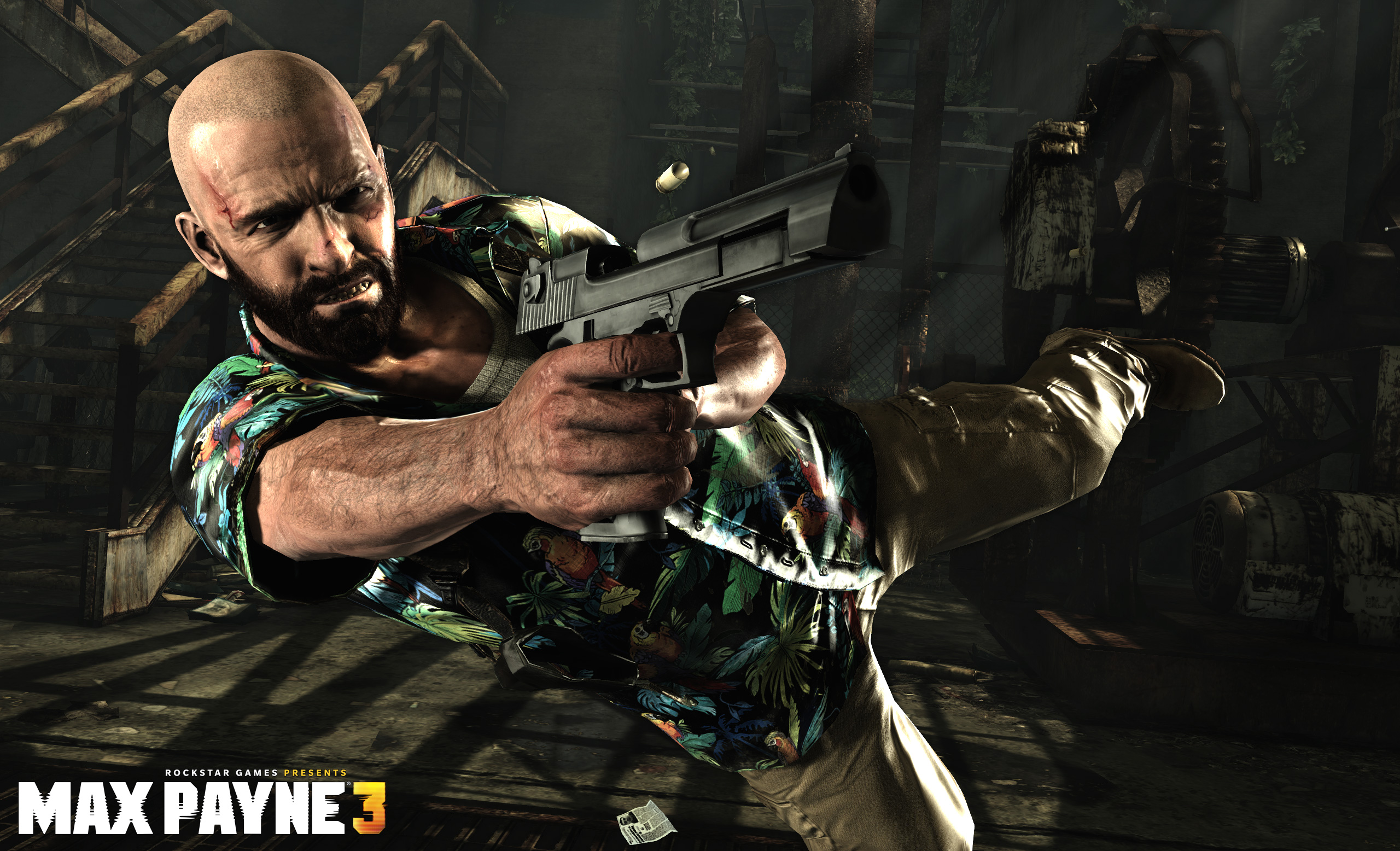 Max Payne 3's massive 35GB install vs. other big games