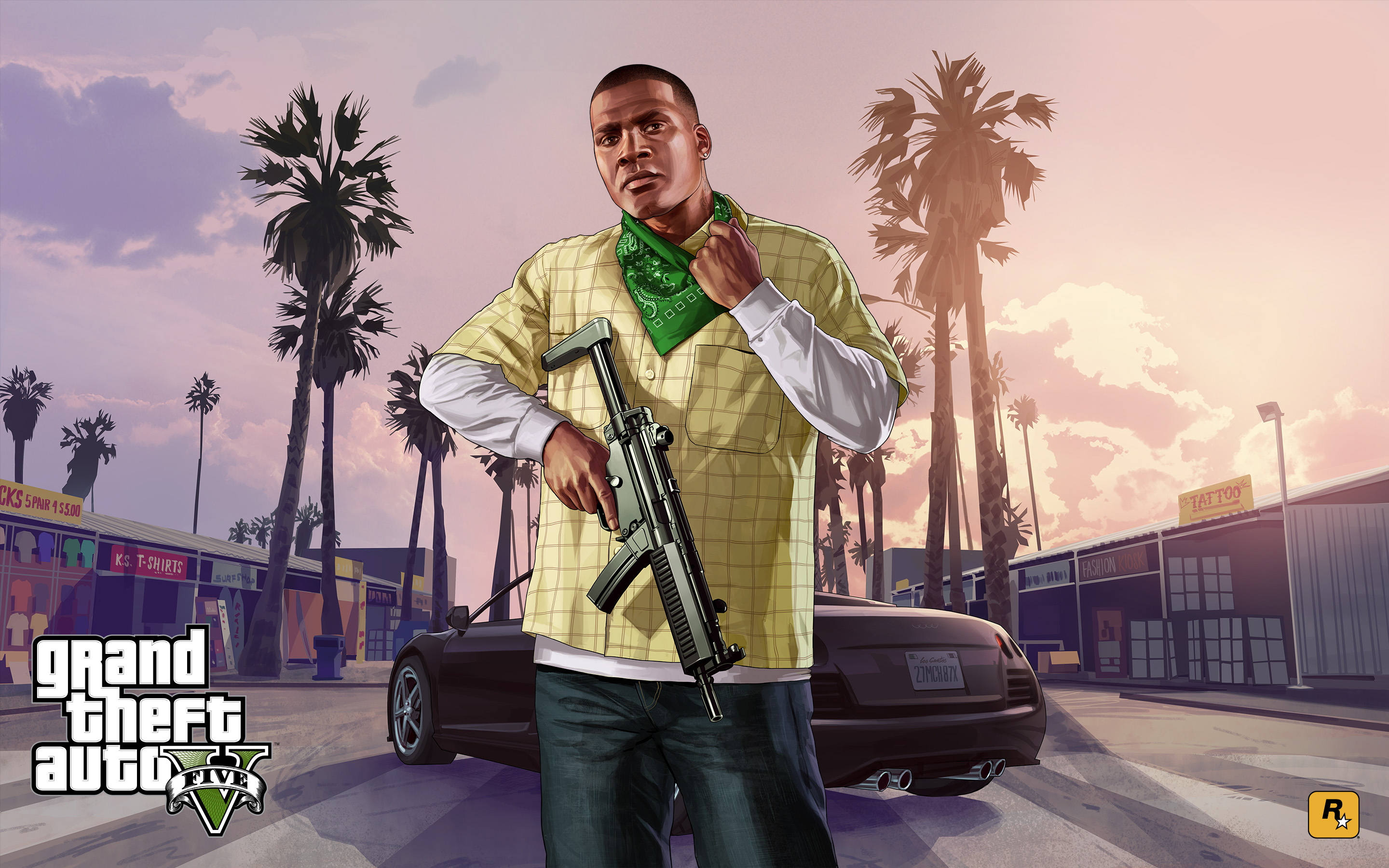 GTA V Franklin wallpaper