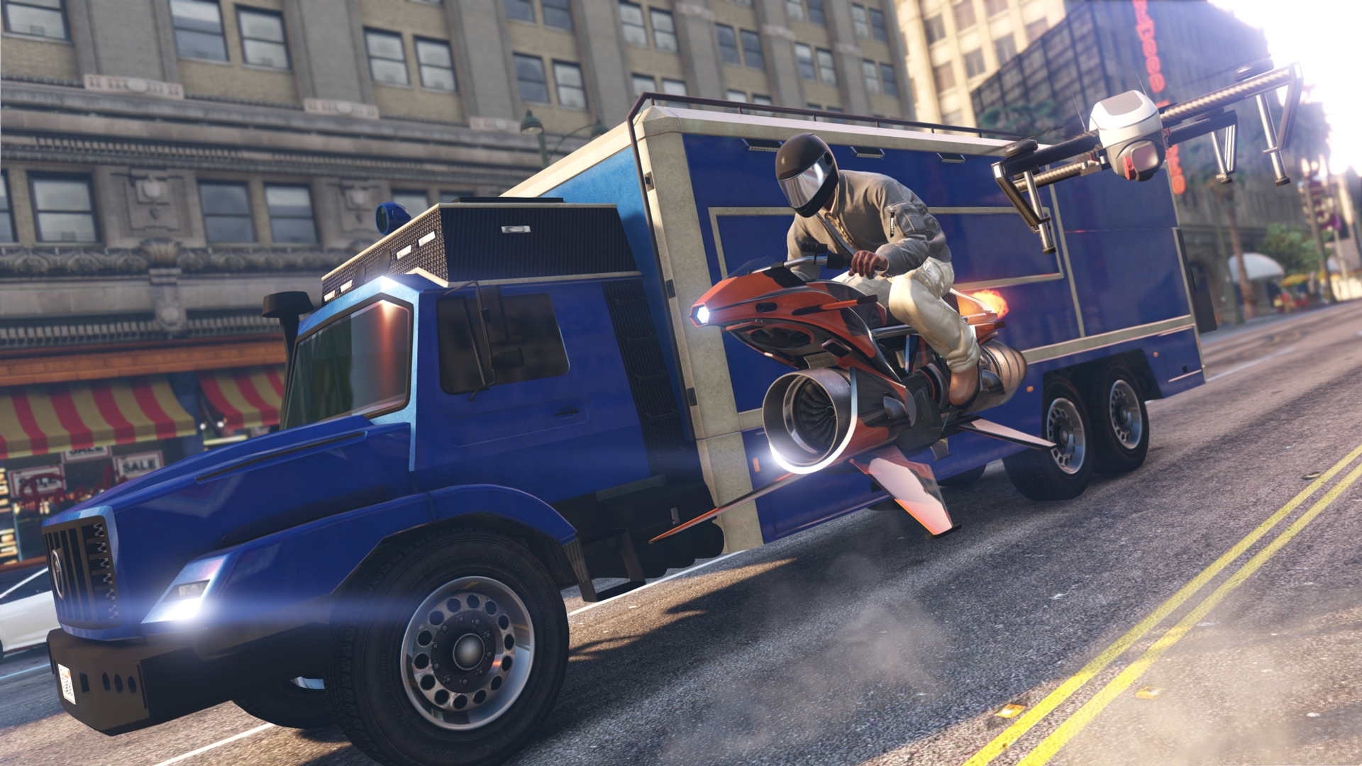 GTA Online: Oppressor MKII & The Terrorbyte coming tomorrow