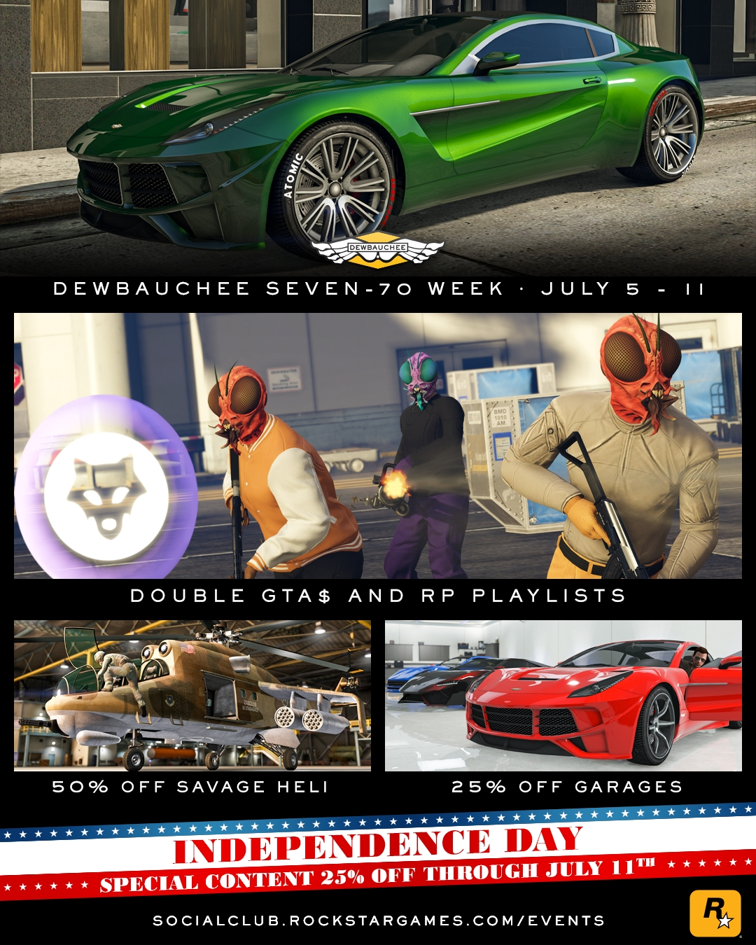 Get The New Dewbauchee Seven 70 And Play 3 New Power Play Maps In