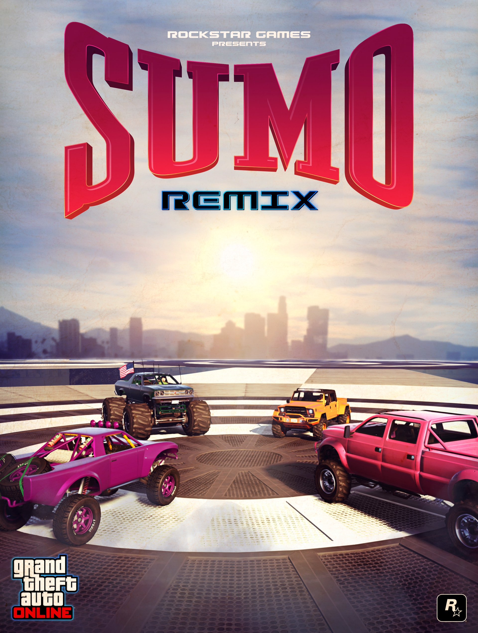 GTA Online: Sumo (Remix) Adversary Mode Out Now & More