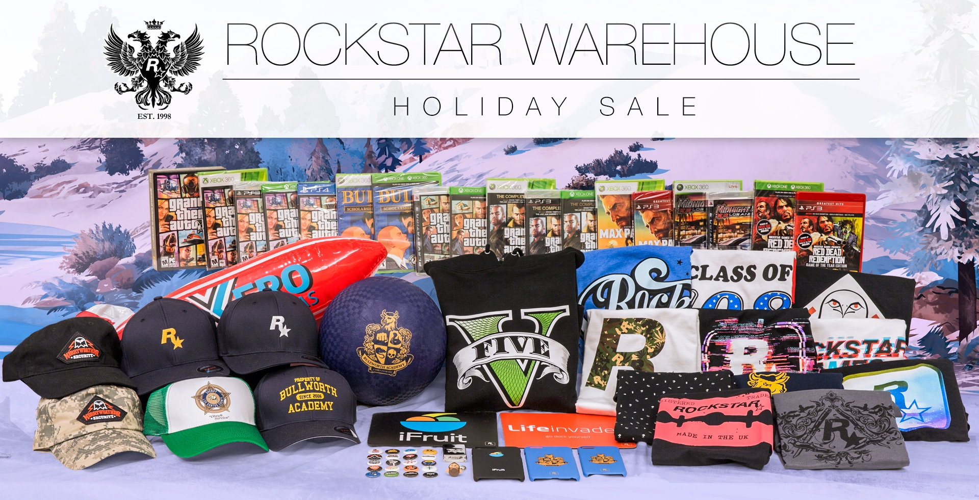 The Rockstar Warehouse Holiday Sale - Rockstar Games 778a1c40c6c2