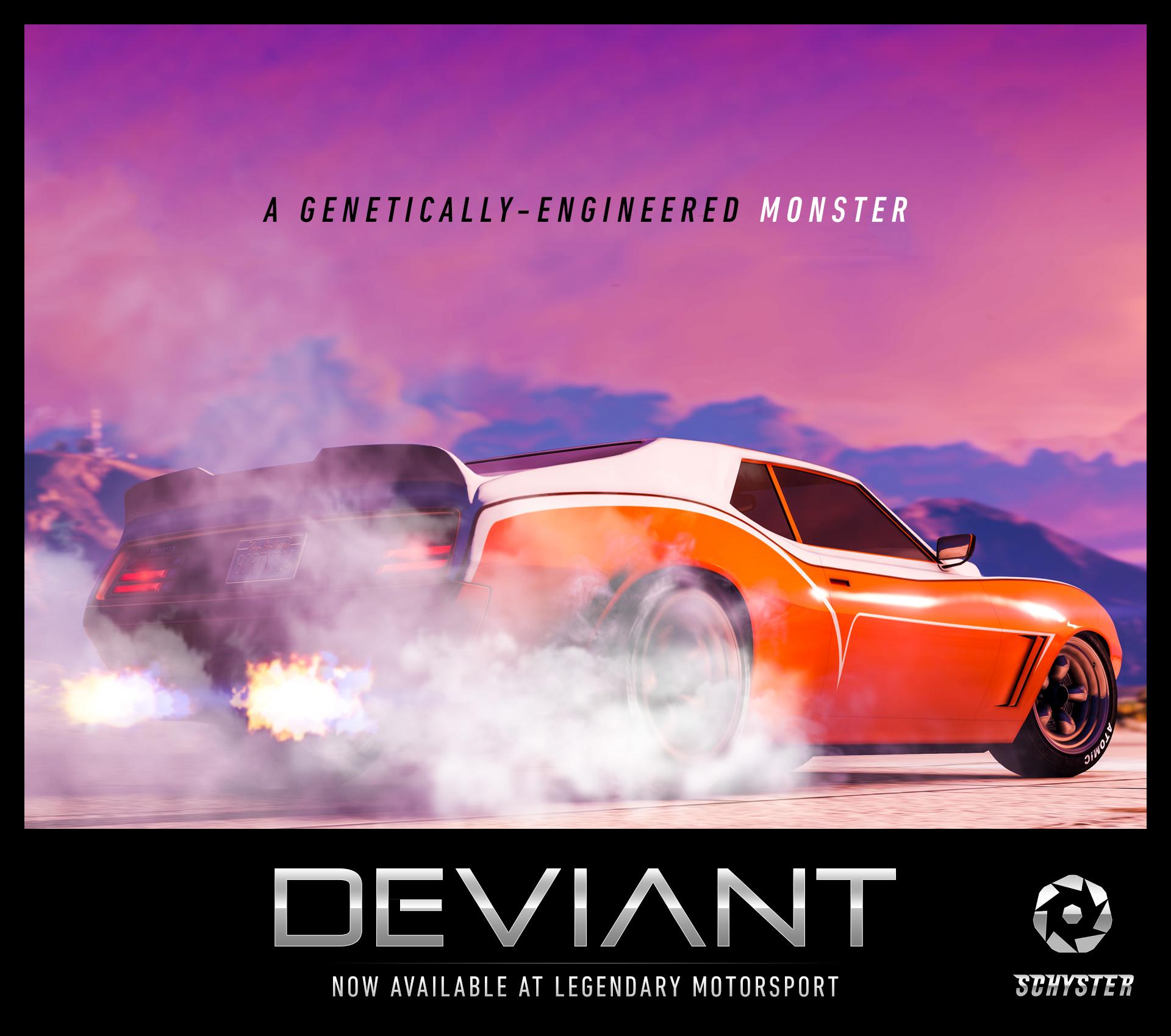 The Schyster Deviant Muscle Car Rockstar Games