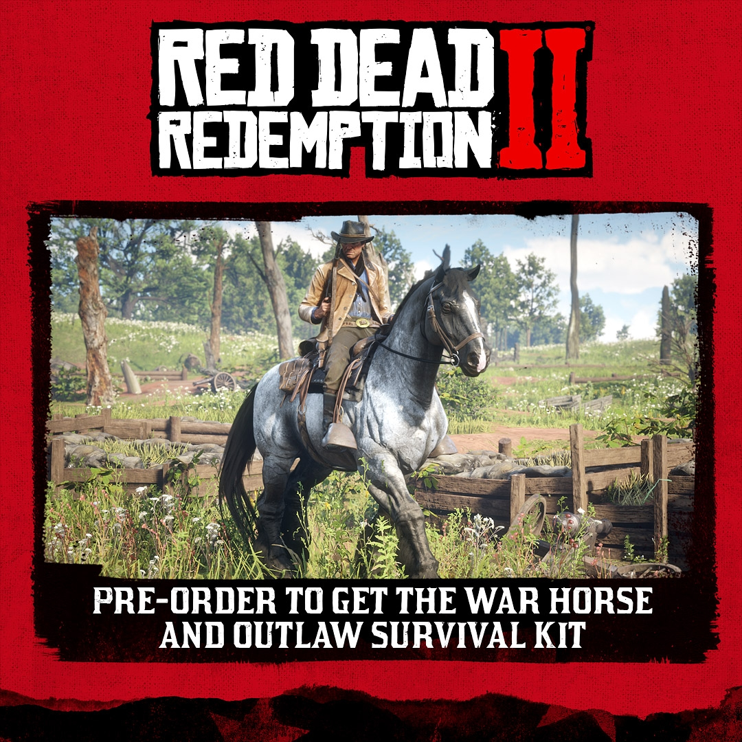 today were pleased to announce details for the special edition and ultimate edition of red dead redemption 2 along with extra pre order bonuses for all