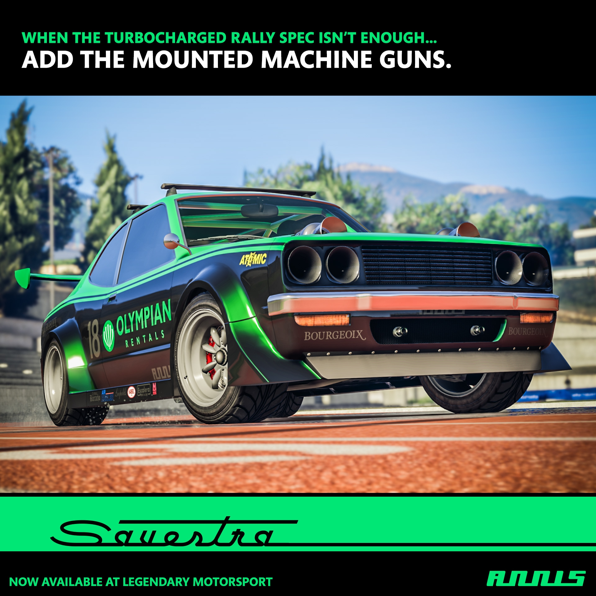 New in GTA Online for 2018: The Annis Savestra Plus New