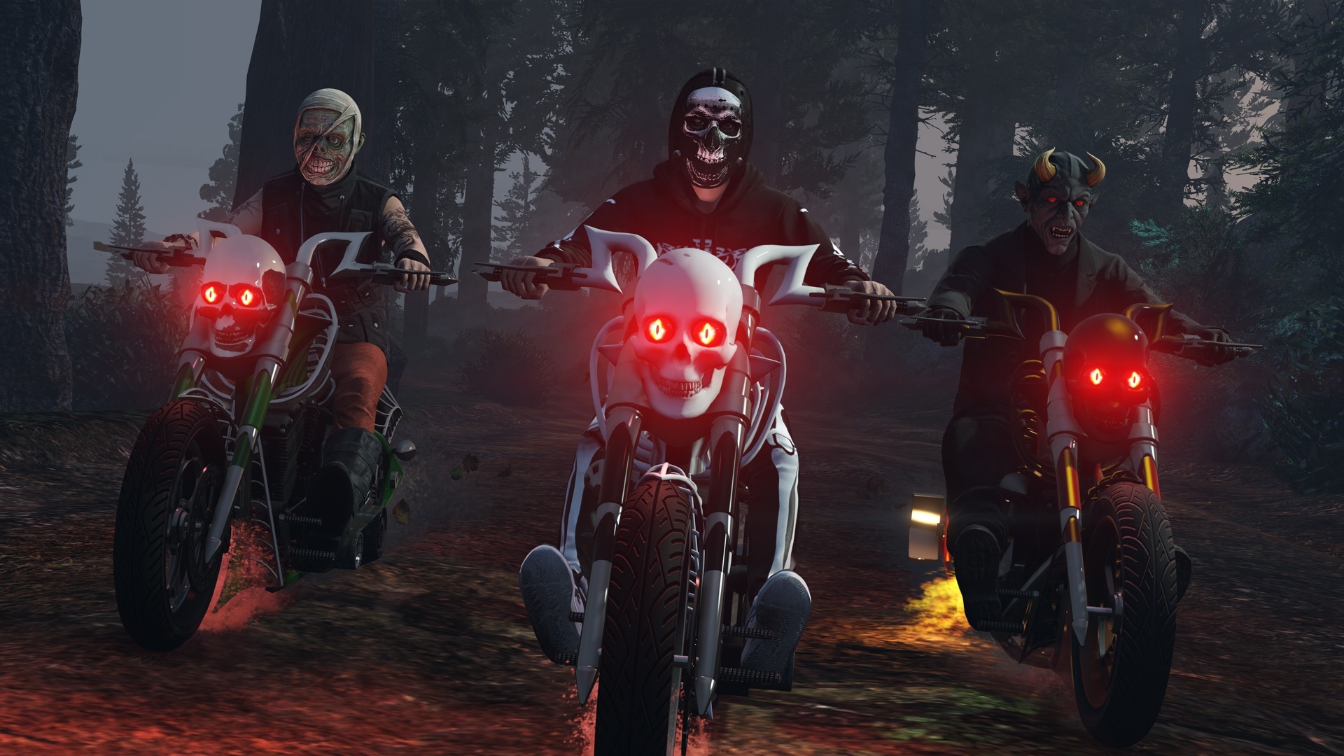 Halloween in GTA Online: New Sanctus Motorcycle, T-Shirt Unlocks ...