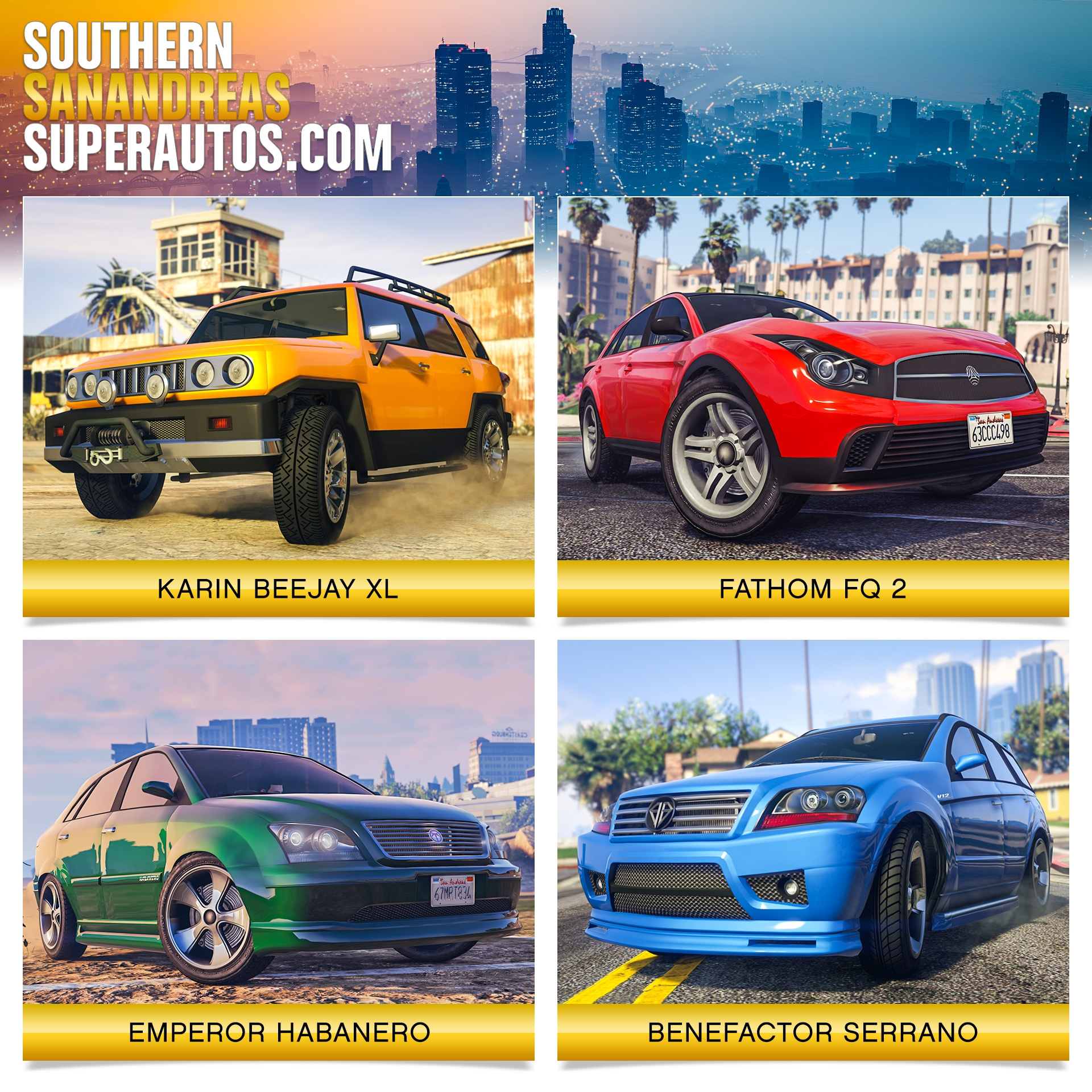 Southern San Andreas Super Autos Inventory Update - Rockstar Games