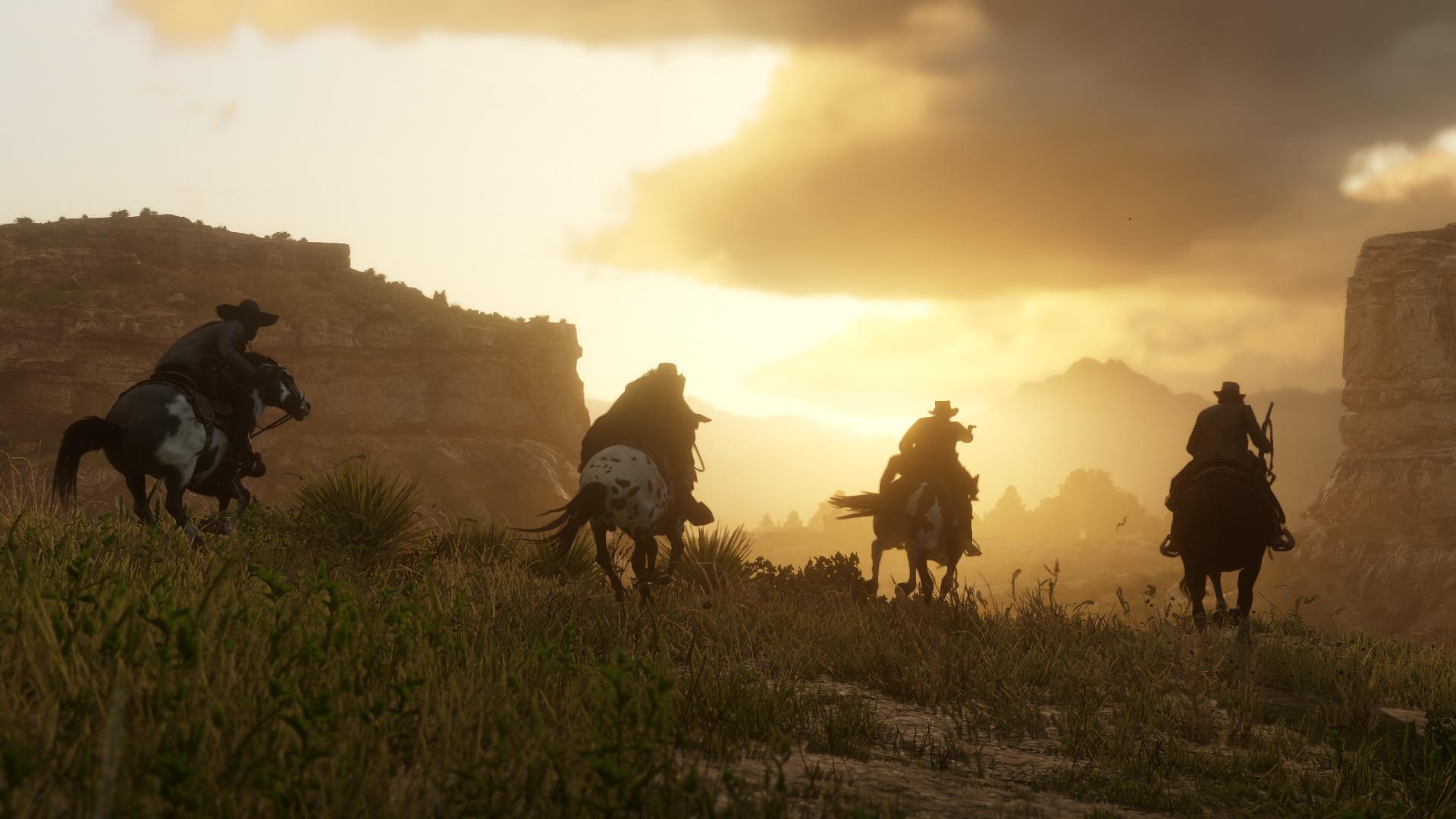 Imagem postada no site oficial da Rockstar Games - Red Dead Redemption 2