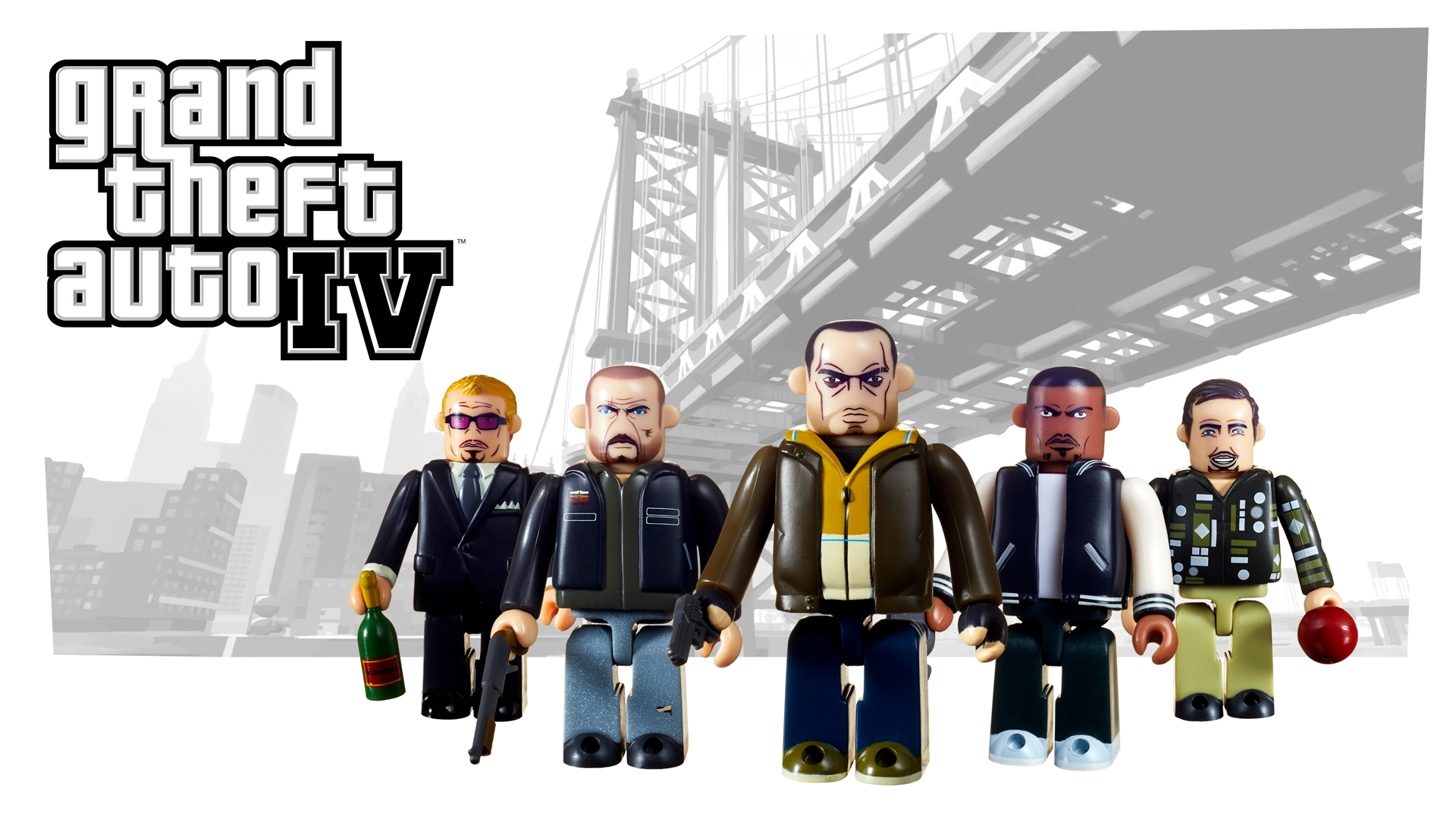 New Grand Theft Auto Kubrick Sets Coming September 14