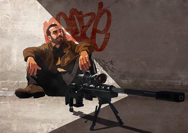 Fan Art By Alessandro Manzella Niko Bellic Illustrations