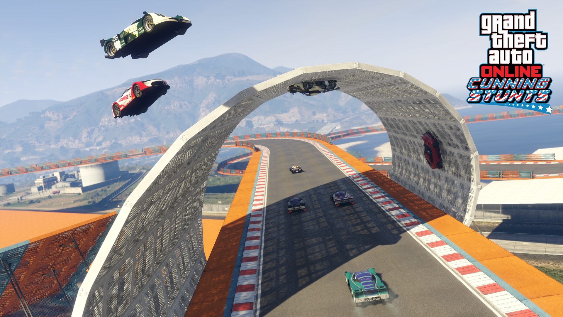 New Stunt Races and Vehicles Added to GTA Online: Cunning