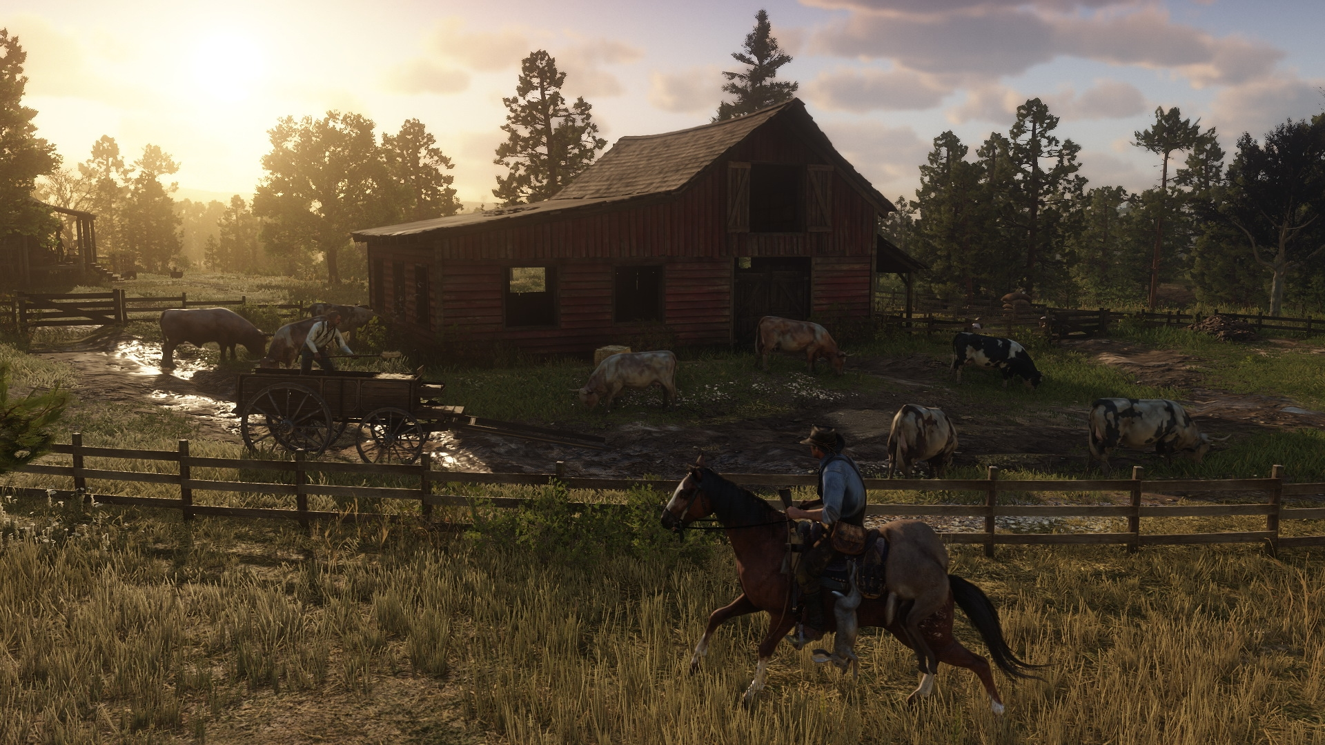 Red Dead Redemption 2 farmland