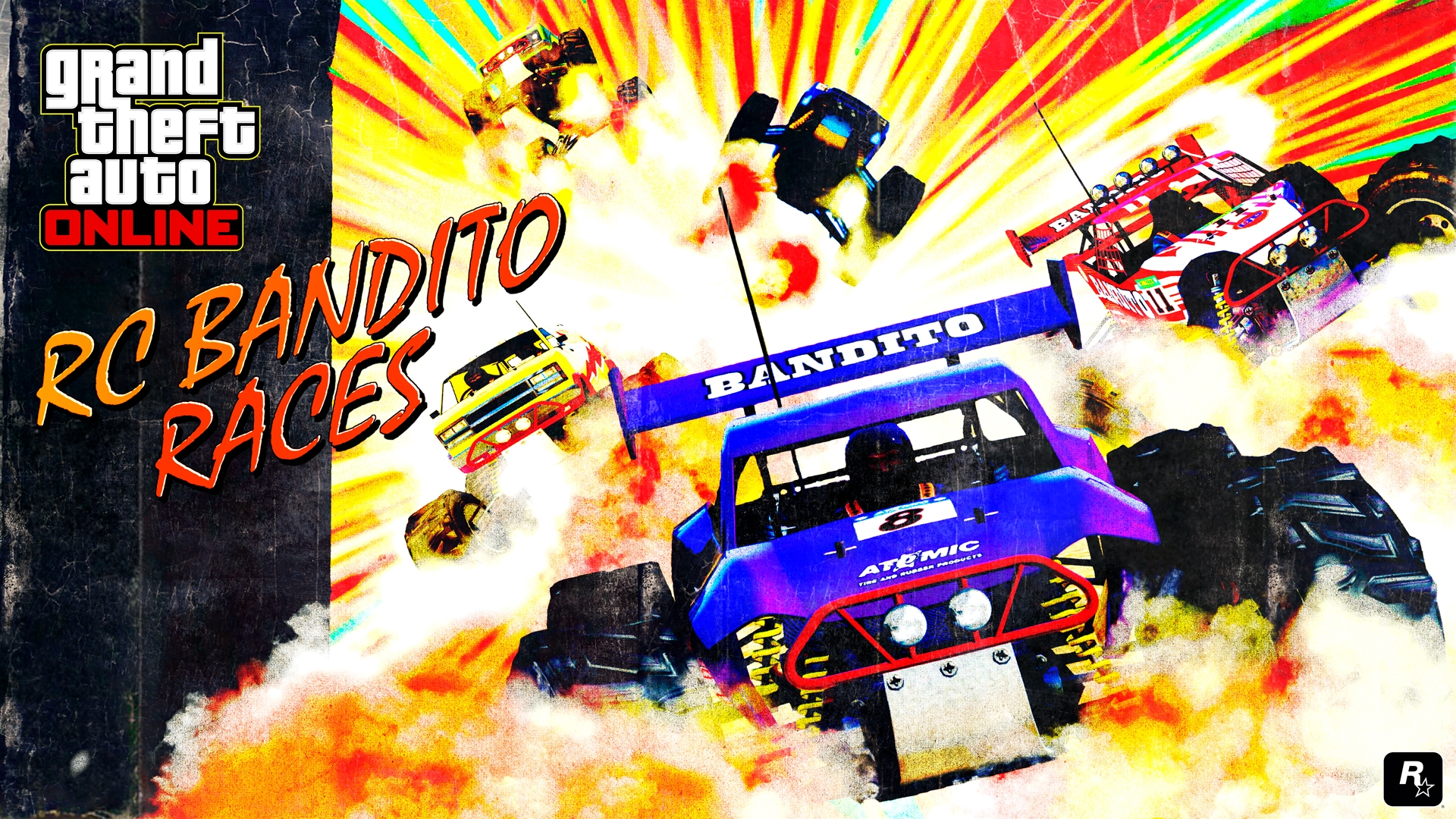 Play 7 New RC Bandito Races - Rockstar Games