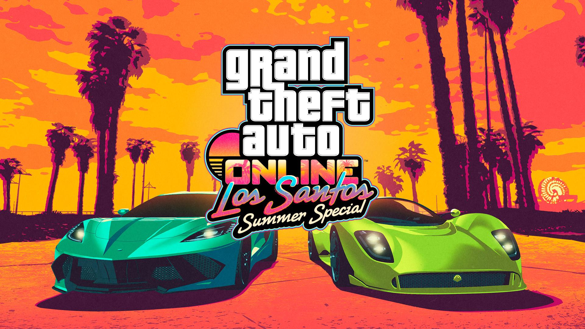 Grand Theft Auto Online Los Santos