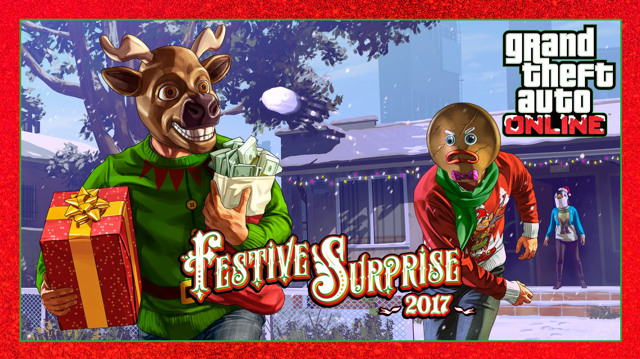 Festive Surprise 2017, Ubermacht Sentinel Classic and Occupy