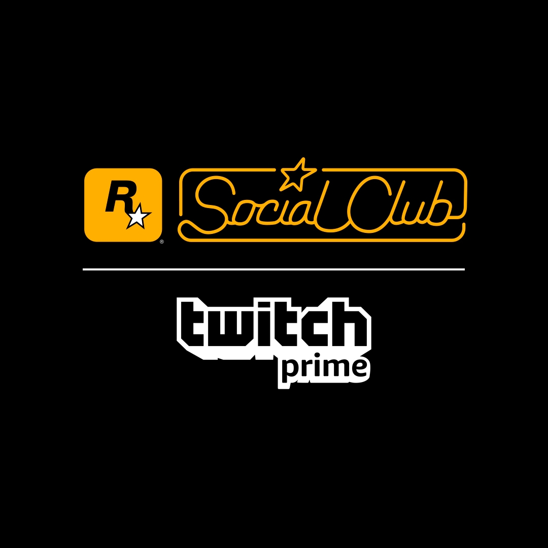 Rockstar Games Social Club x Twitch Prime