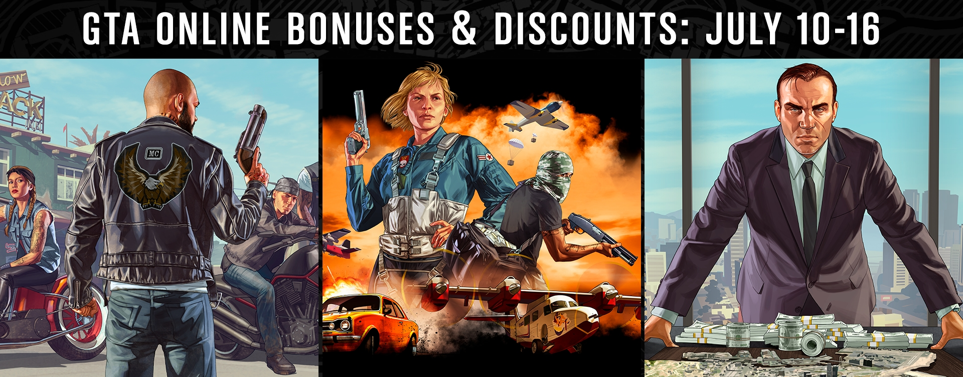 GTA Online Bonuses and Guest List Rewards - Rockstar Games