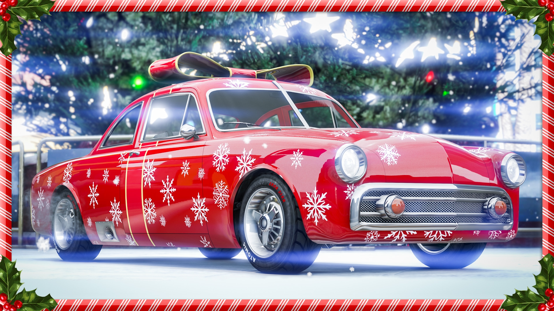 festive surprise 2018 in gta online - rockstar games