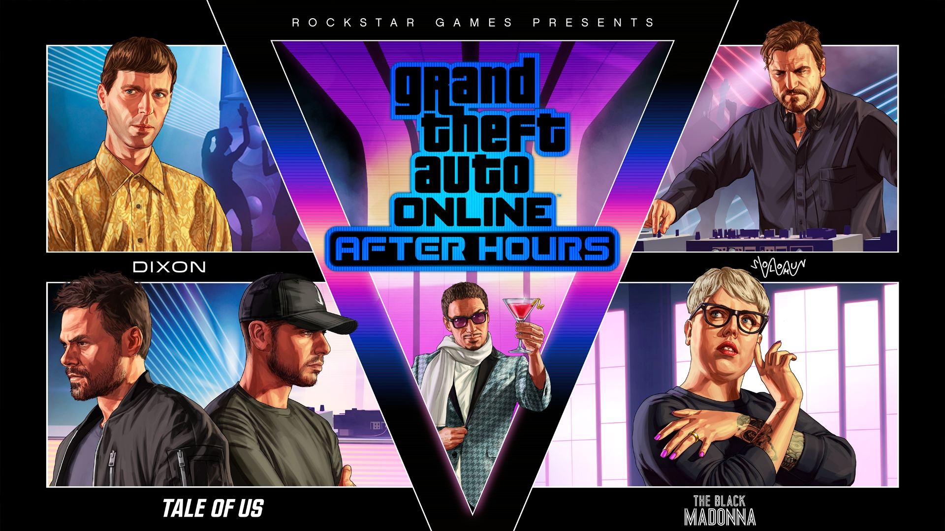 GTA Online: After Hours Out Now - Rockstar Games
