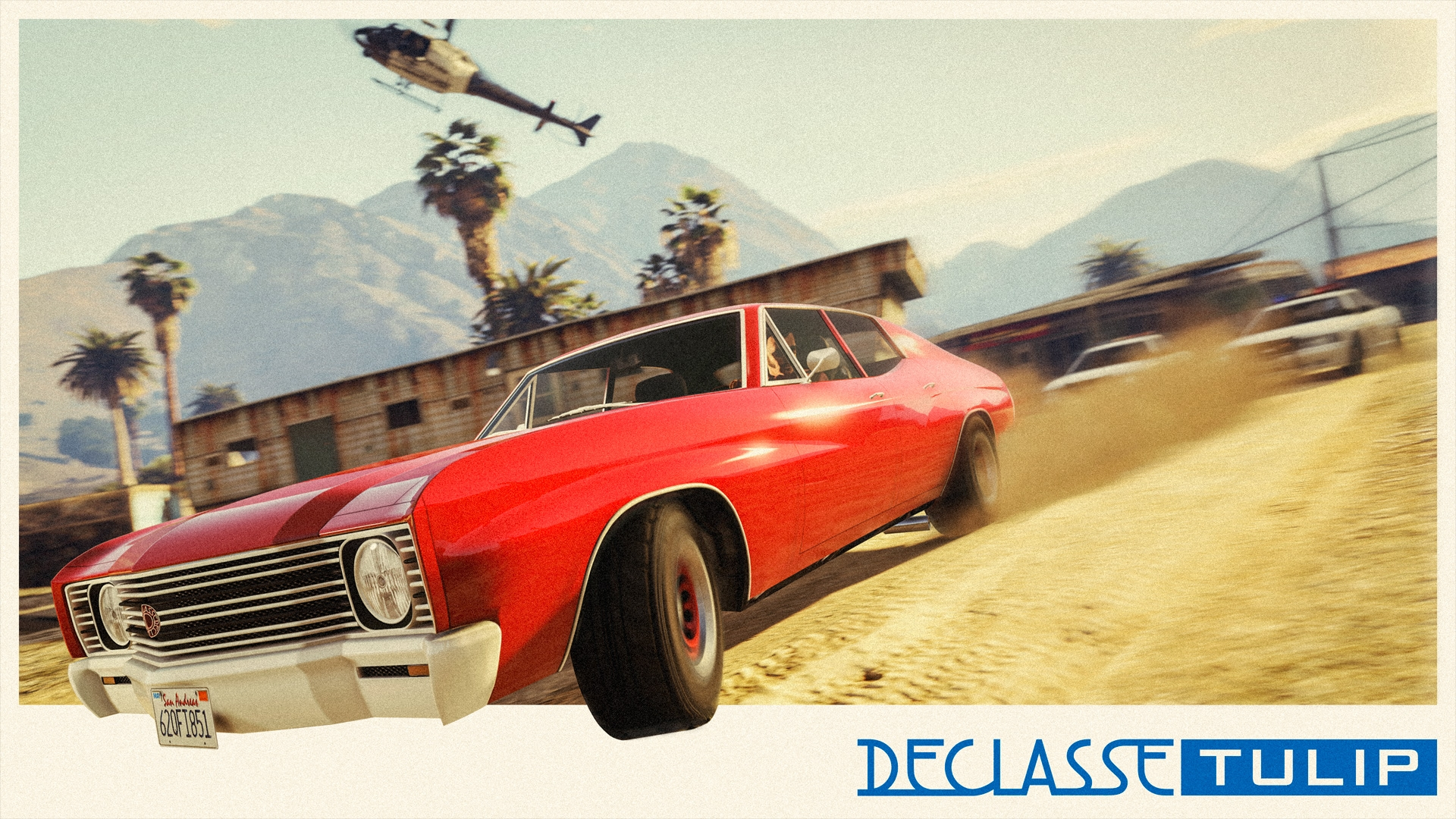 The Declasse Tulip Muscle Car Rockstar Games
