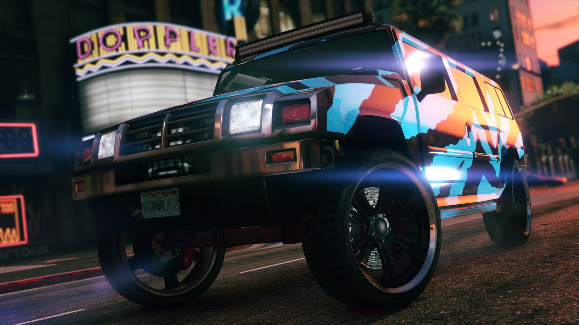 Now at Southern San Andreas Super Autos: Mammoth Patriot and Chariot