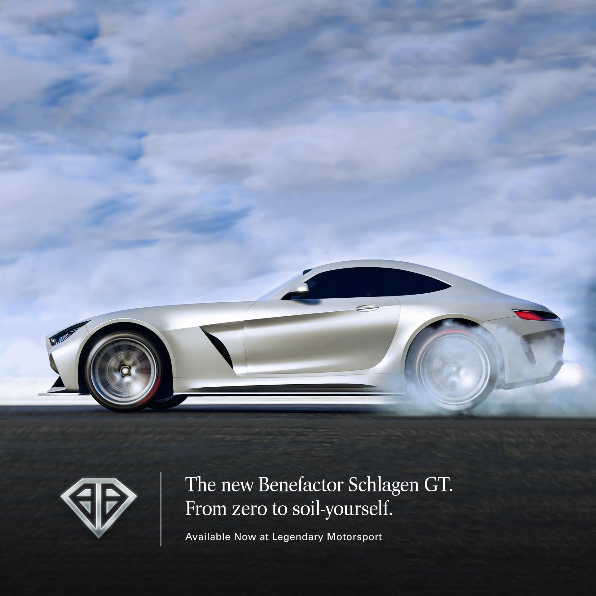 GTA Online: The Benefactor Schlagen GT Sports Car