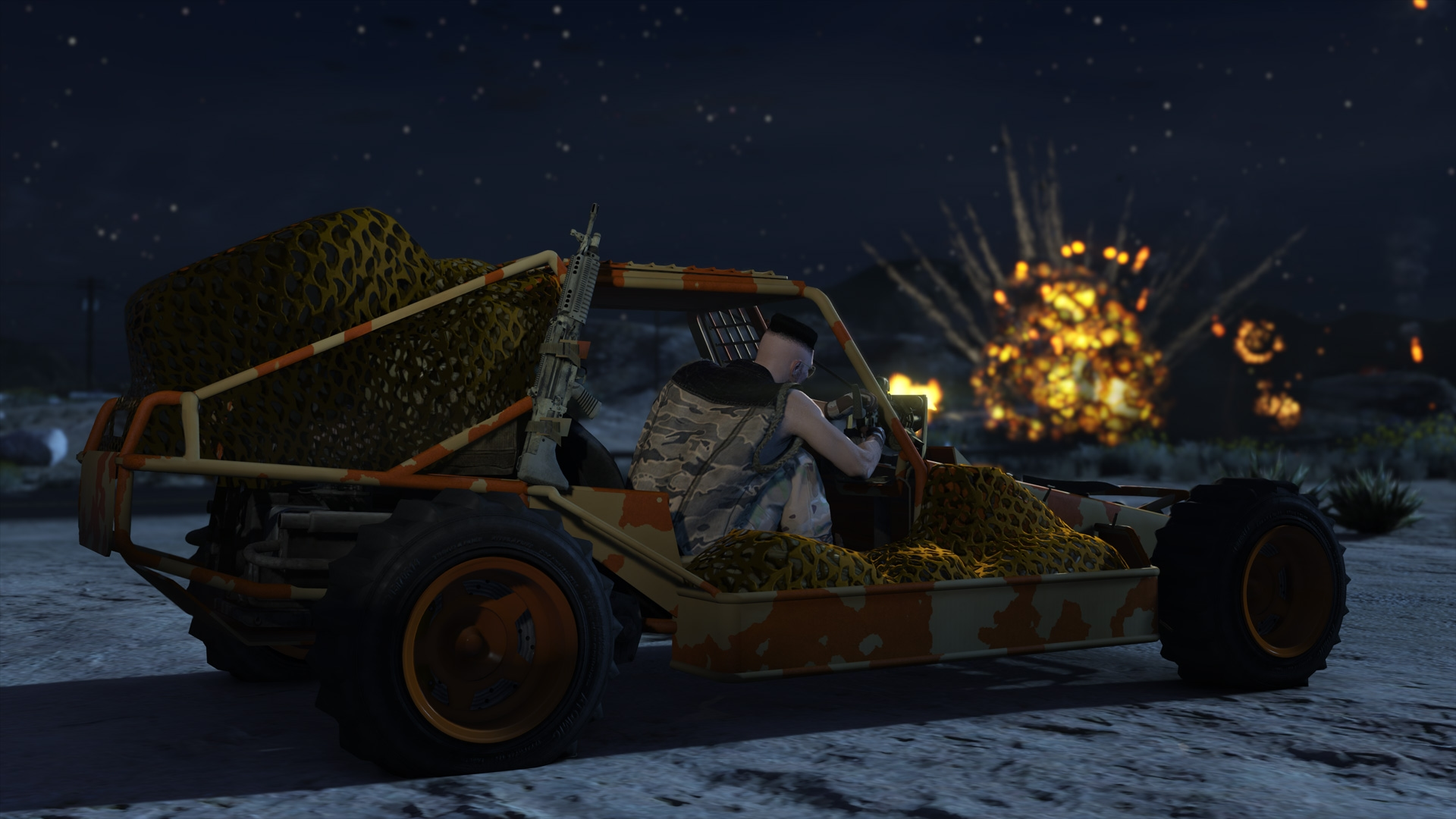 GTA Online: Gunrunning - Underground Bunkers, Mobile