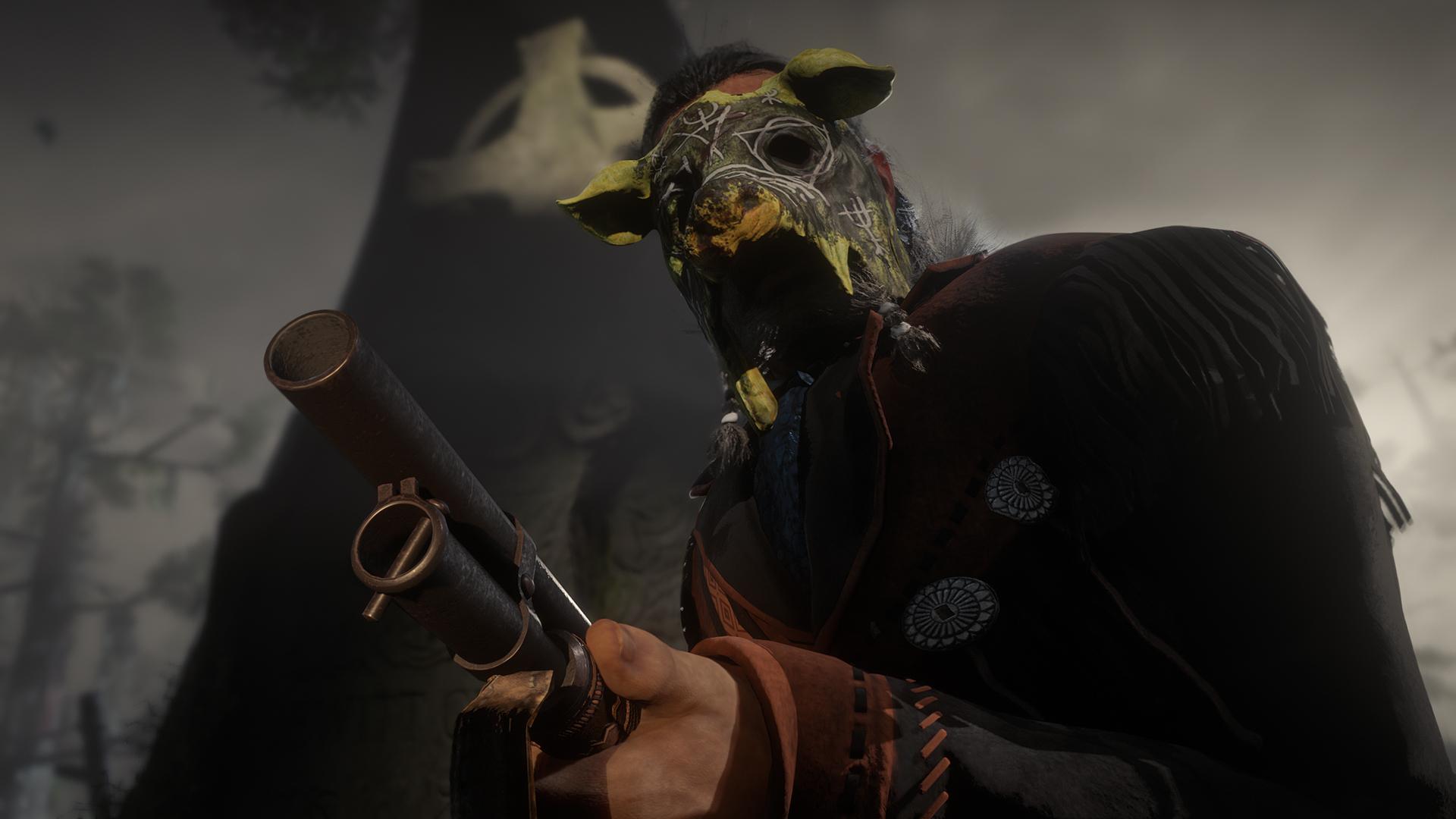 Red Dead Online se prepara para Halloween, con un fugitivo que capturar y mucho contenido