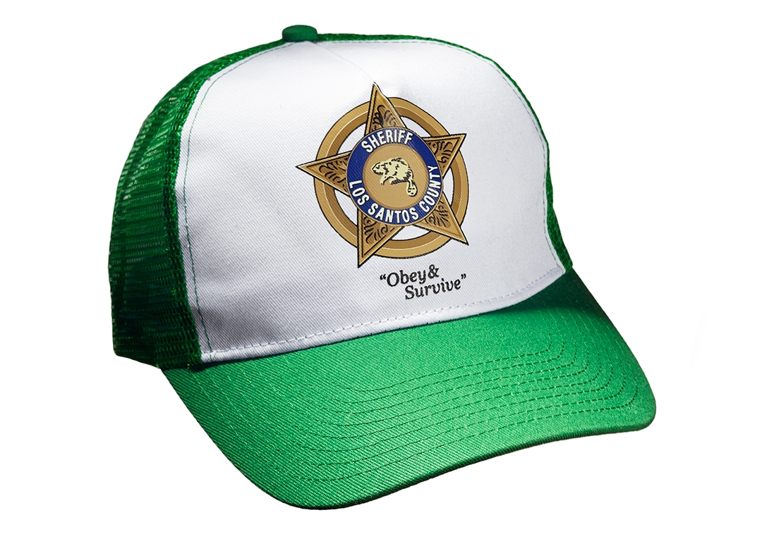Los Santos Sheriff Trucker Cap Back in Stock - Rockstar Games edd98a92a15