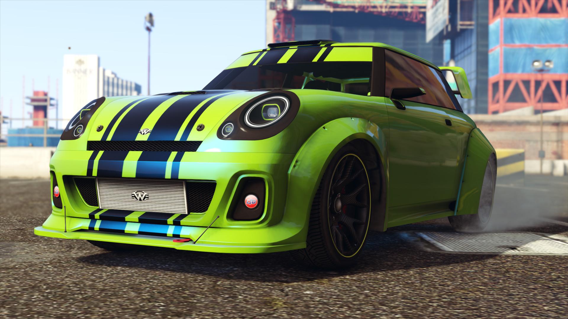 GTA Nieuwe Auto's