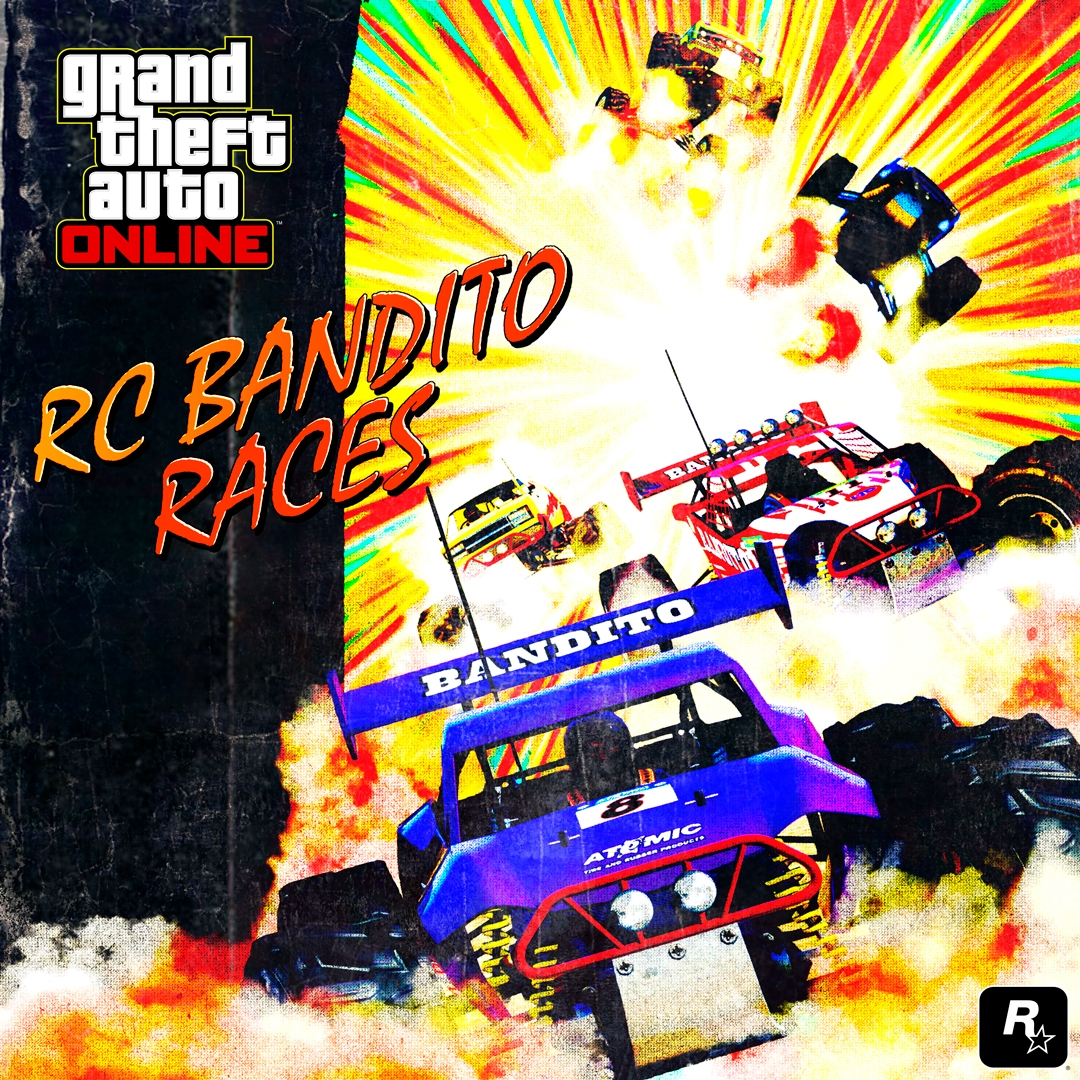 GTA Online: Arena War Creator, 7 new RC Bandito Races & more
