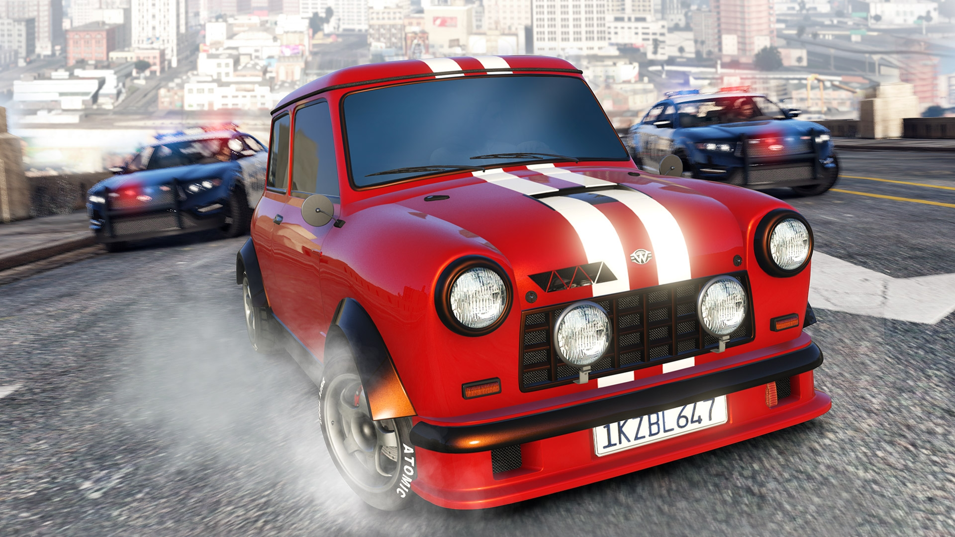 The Vespucci Job Plus 3 New Vehicles Now Available