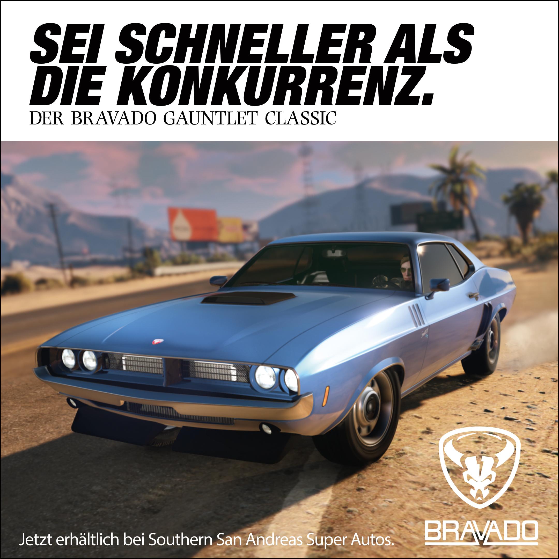 Muscle Car Bravado Gauntlet Classic Jetzt Erhaltlich