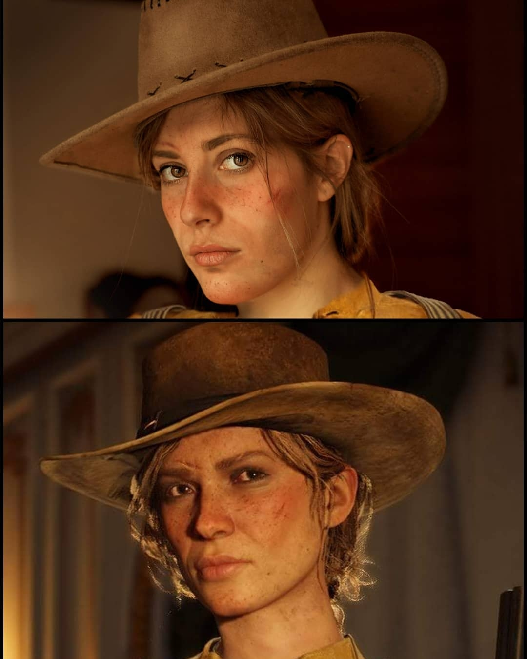4b70d6cdfff9e Spanish cosplayer falconess  makes for a spot-on Sadie Adler in this  faithful recreation of the widow turned outlaw. (Source  falconess  on  Instagram)