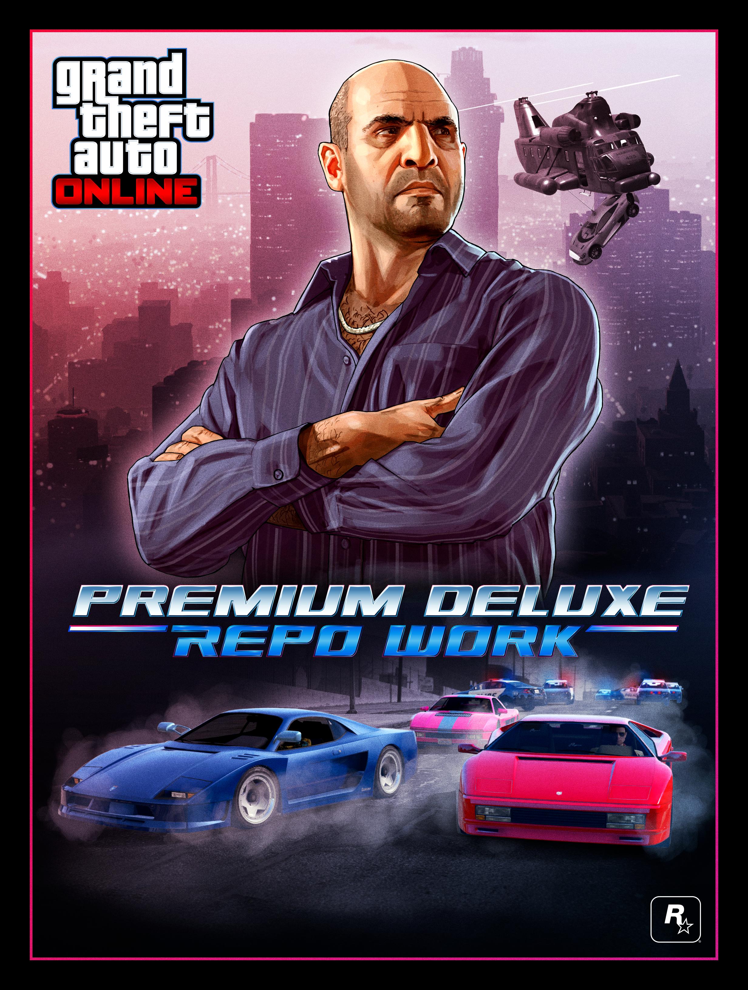 New Missions: Simeon's Premium Deluxe Repo Work - Rockstar Games