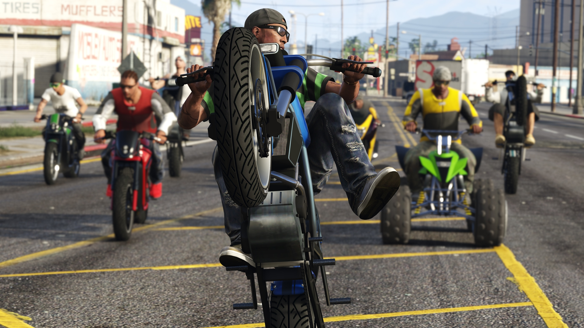 GTA Online: Bikers Now Available - Rockstar Games