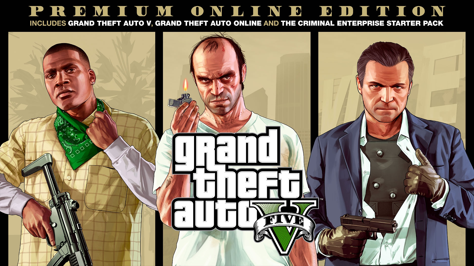 Grand Theft Auto V Premium Online Edition Rockstar Games
