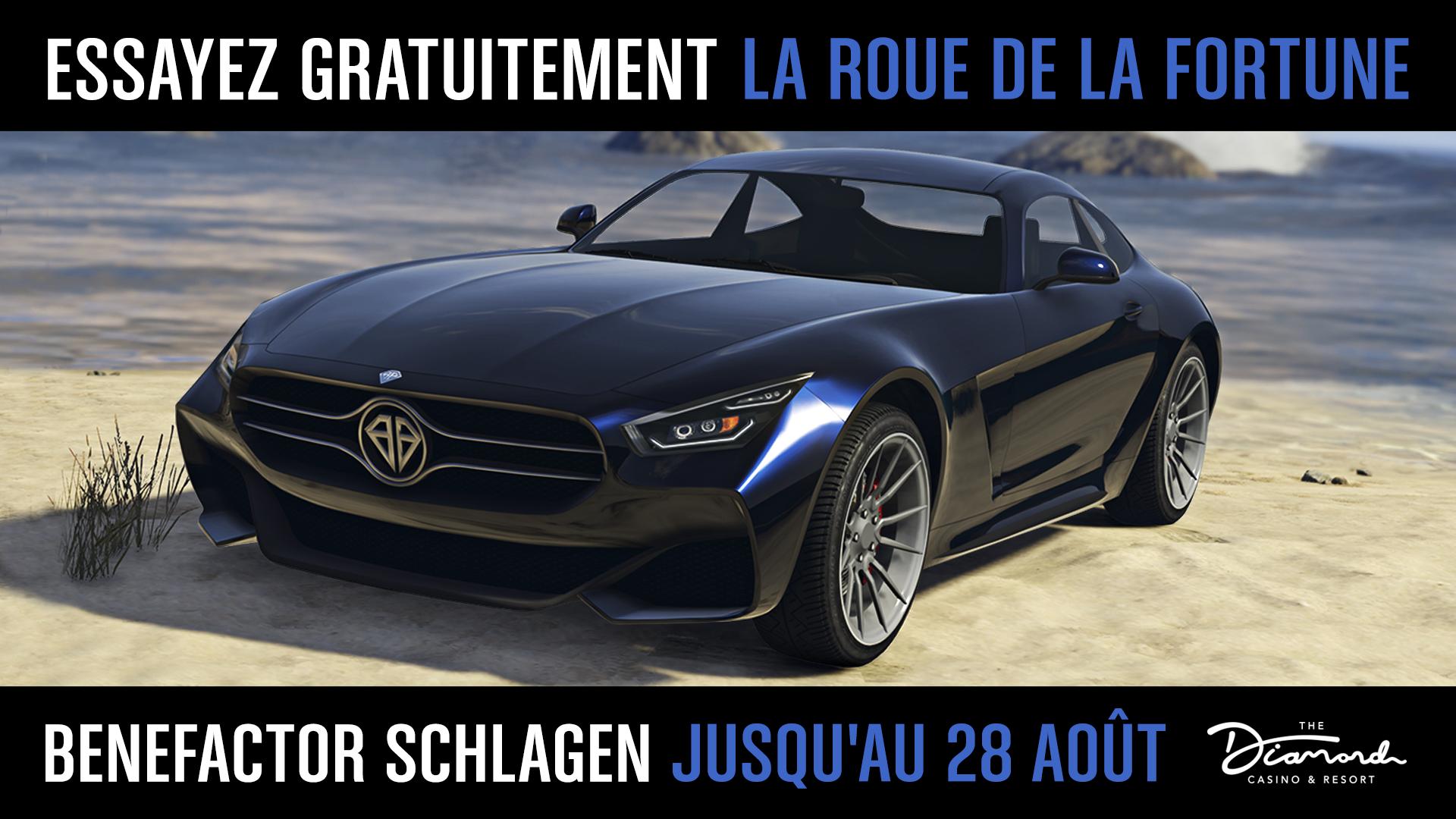 La Benefactor Schlagen est à gagner dans GTA Online