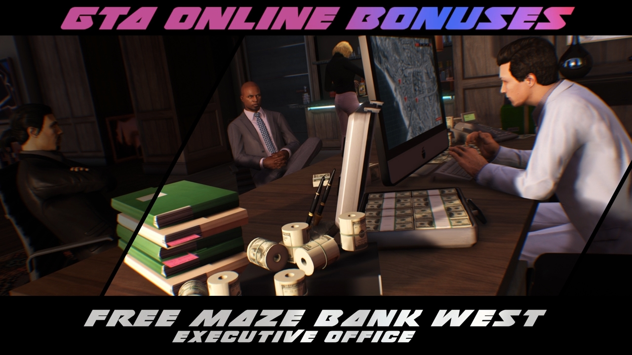 New Simeon Premium Deluxe Repo Work and Executive Office Giveaway - Rockstar Games