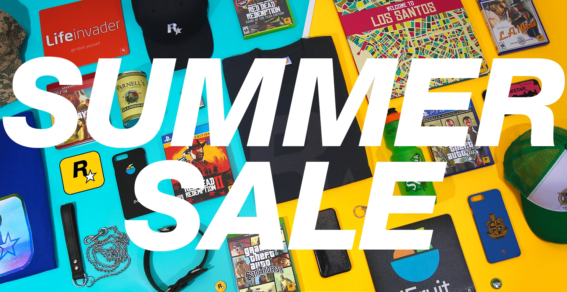 Rockstar Warehouse Summer Sale - Rockstar Games
